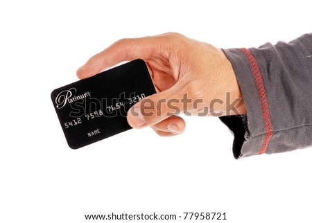 Paying with Your Platinum Credit Card