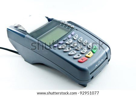 payment machine and Credit card