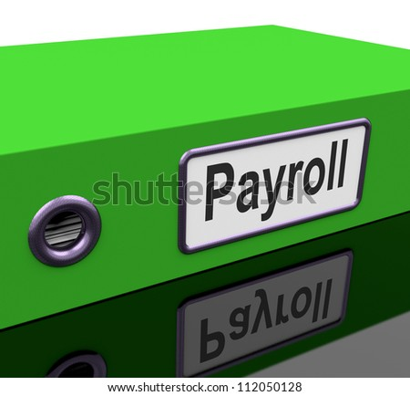 Payroll File Containing Employee Timesheet Records