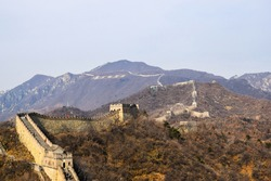 Paysage de la grande muraille de Chine - The Chinese wall, nature