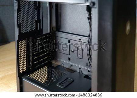 PC build - pc case inside #1488324836
