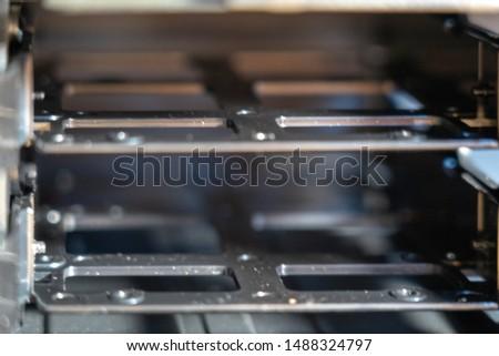 PC build - pc case inside - Hard drive slot #1488324797