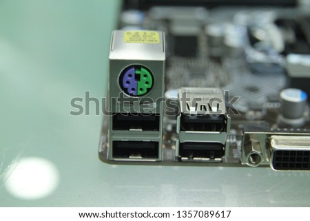 PC computer motherboard component  part  and usb ethernet  #1357089617
