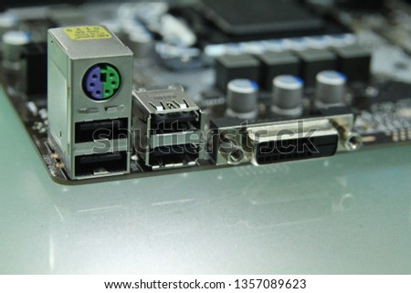 PC computer motherboard component  part  and usb ethernet  #1357089623