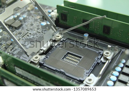 PC computer motherboard component  part  and usb ethernet  #1357089653