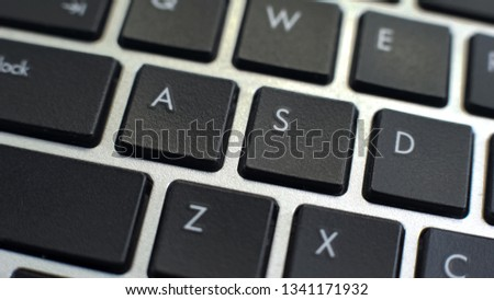 PC keyboard, feature for text typing and editing, typewriter-style device #1341171932