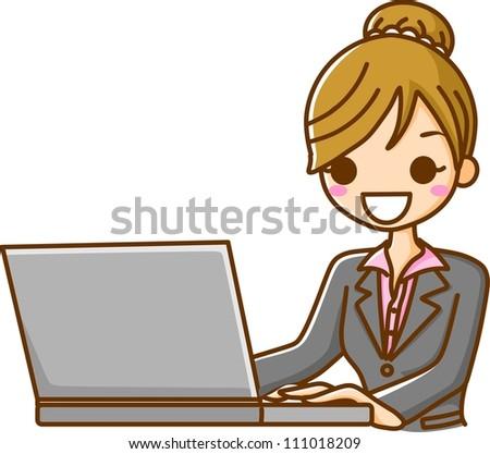 PC woman