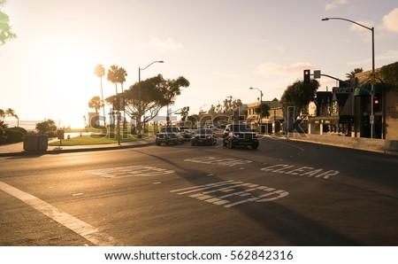 PCH along Laguna Beach in Southern California.   #562842316