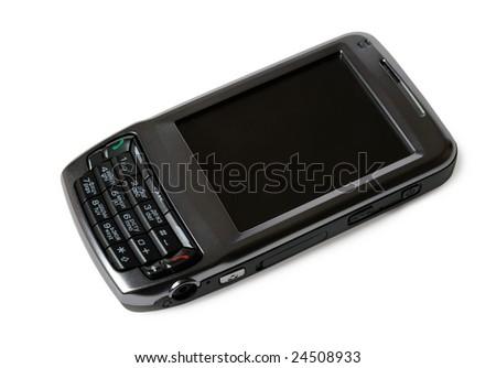 PDA communicator isolated on white
