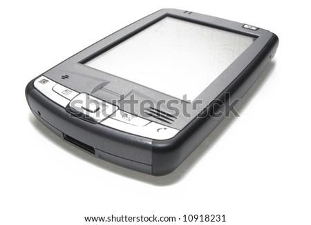 PDA on white