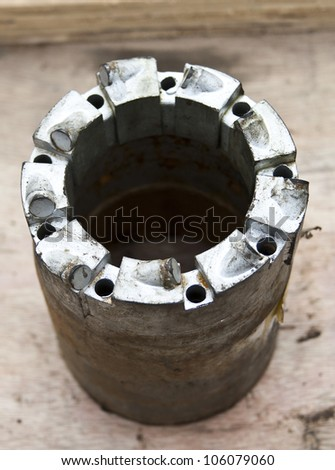 PDC core bit used in the mining industry and Coal Seam Gas drilling