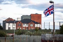 Peace walls in Belfast, Northern Ireland
