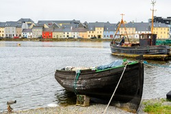 peaceful fishing town of Galway, Ireland