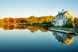 Peaceful House on the Bay near Kennebunkport, Maine