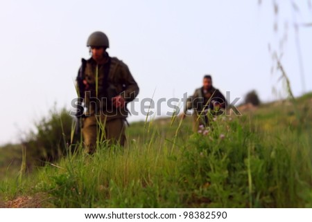 peaceful palestinian morning