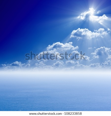 Heaven Cloud Backgrounds Peaceful sea background