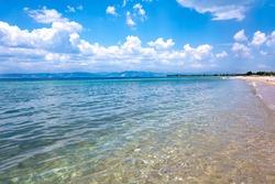 Peaceful seaside at Thassos island