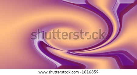 peach and violet background