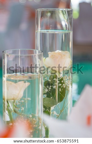 Free Photos Beautiful Bouquet Of Flowers In Glass Vase On Light Blue