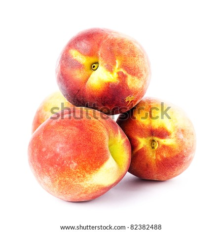 peach isolated #82382488
