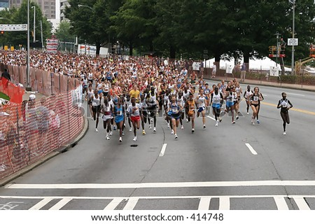 Peachtree Road Race 2005