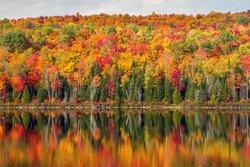 Peak Autumn reflection