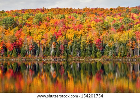 Peak Autumn reflection