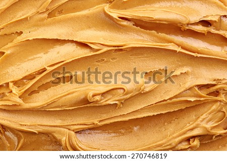peanut butter background, top view Stock photo ©
