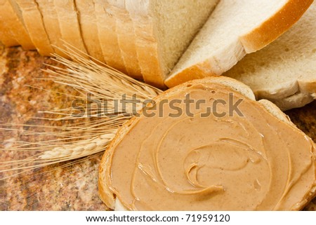 Peanut butter is a delicious snack and food allergen