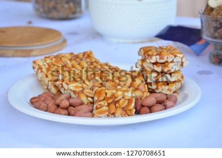 Peanut Chikki or Sing Chikki