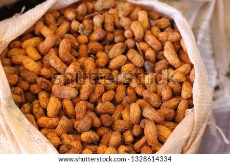 Peanut, organic, peanuts #1328614334