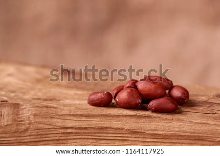 Peanut snacks nuts eating snacks red peanuts peanuts fried peanuts. concept of a good Friday rest