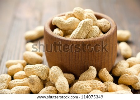 Peanuts - stock photo