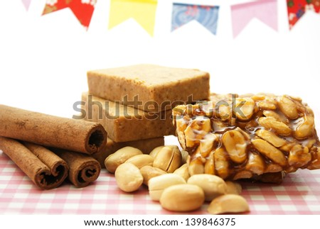 Peanuts sweets candy