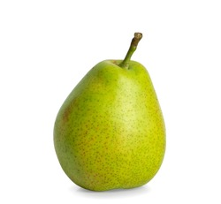Pear an isolated on white background