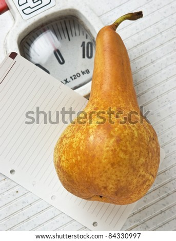 pear and a note on the floor scales