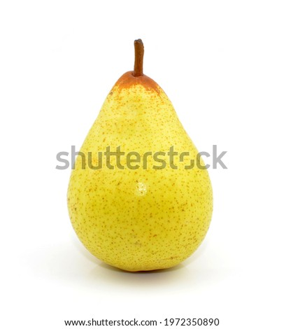 pear on a white background Foto stock ©