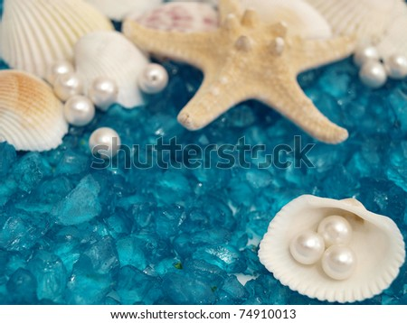 pearl and shells