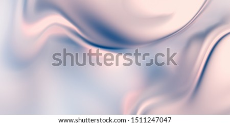 Pearl background. Smooth fluid texture. 3D rendering liquid surface.