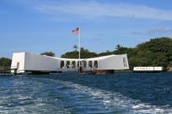 PEARL HARBOR MEMORIAL IN OAHU HAWAII