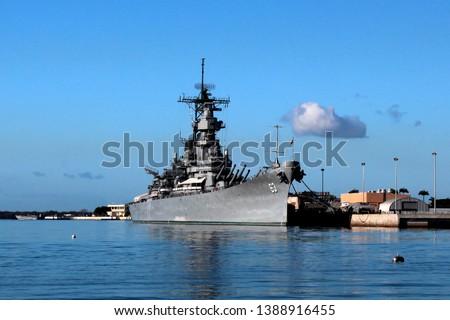 Pearl Harbor USS Arizona WWII Battleship Hawaii  #1388916455