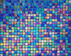 pearl mosaic tiles for  background