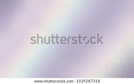 Pearlescent background. Holographic foil. Iridescent texture. Neon rainbow metallic gradient. Hologram effect. Sparkly silver metal texture. Design prints. Pearlescent pattern. Illustration Сток-фото ©