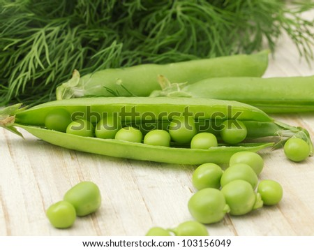 peas with fennel