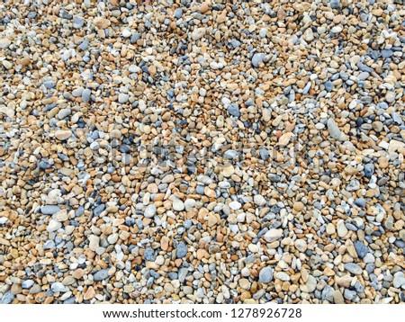 Pebble beach, Brighton, UK #1278926728