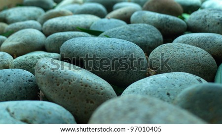 Pebble Stone, close-up