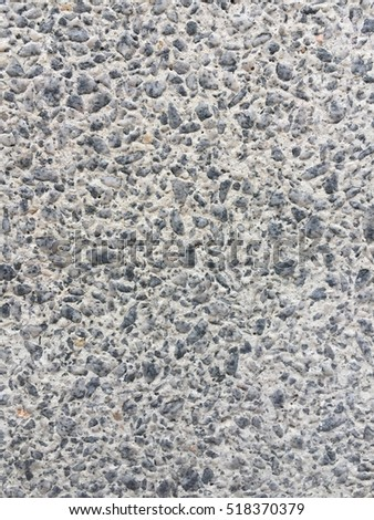 Pebble Wash Stone Wall And Floor Texture For Outdoor Architecture Design 518370379