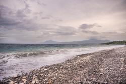 Pebbled Beach of Punta Malabrigo, Lobo, Batangas.