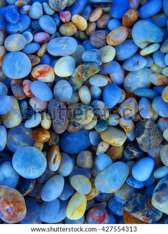 Pebbles at Pebble Beach - Shutterstock ID 427554313