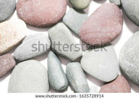 Pebbles background - assorted pebbles